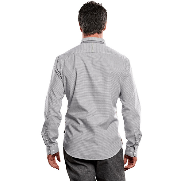 Hemd mit Minimalmusterung