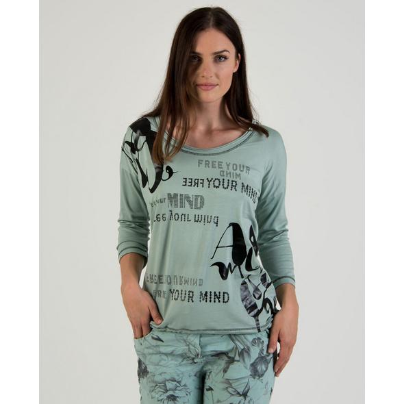 Shirt mit Folienschriften