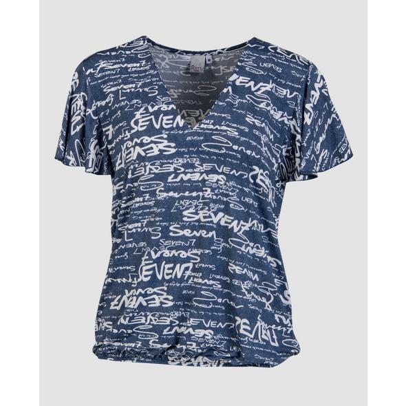 Shirt mit Alloverdruck