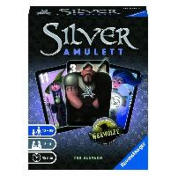 Ravensburger 26826 - Silver Amulett, Kartenspiel f