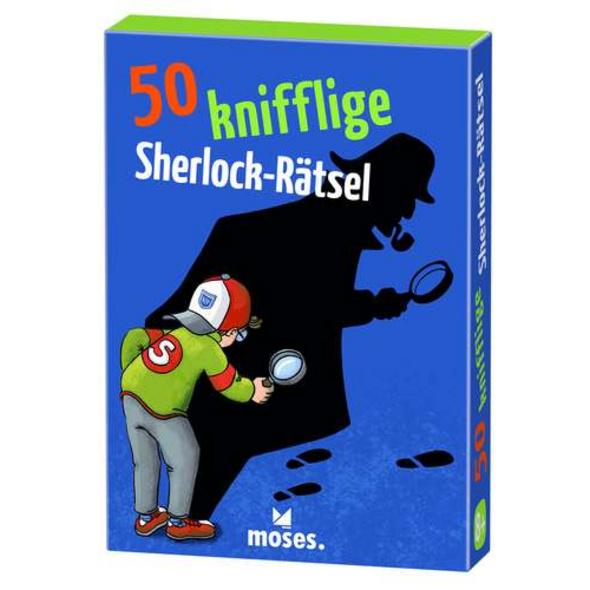 50 knifflige Sherlock-Rätsel