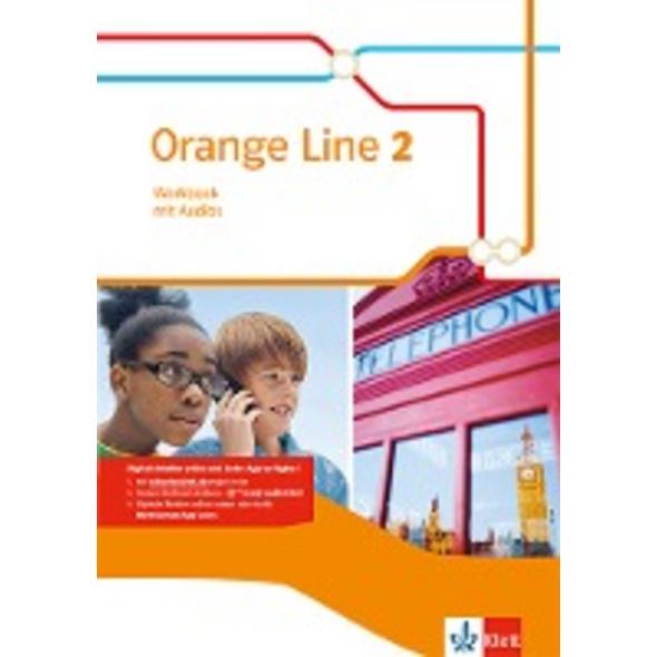 Orange Line 2. Workbook mit Audio-CD
