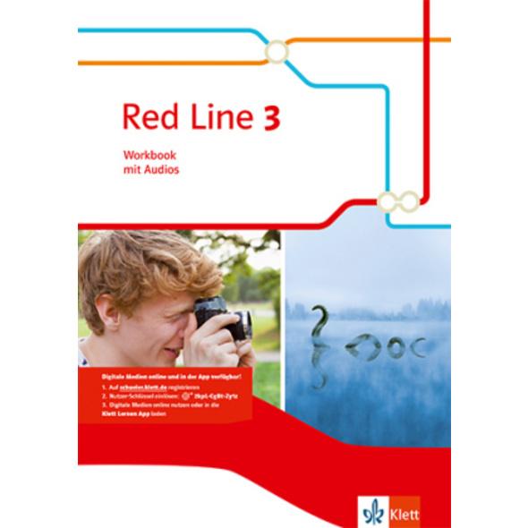 Red Line 3. Workbook mit Audio-CD. Ausgabe 2014