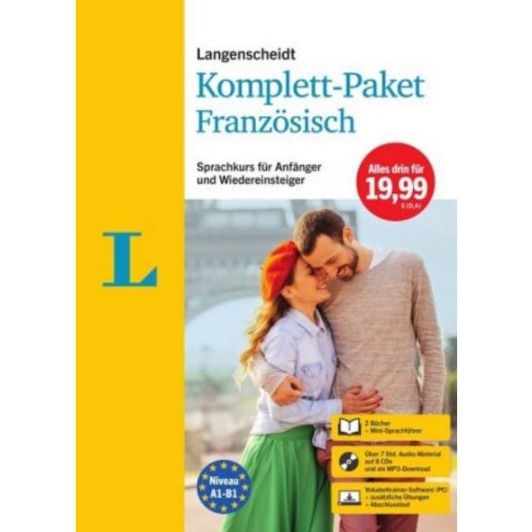 Langenscheidt Komplett-Paket Französisch
