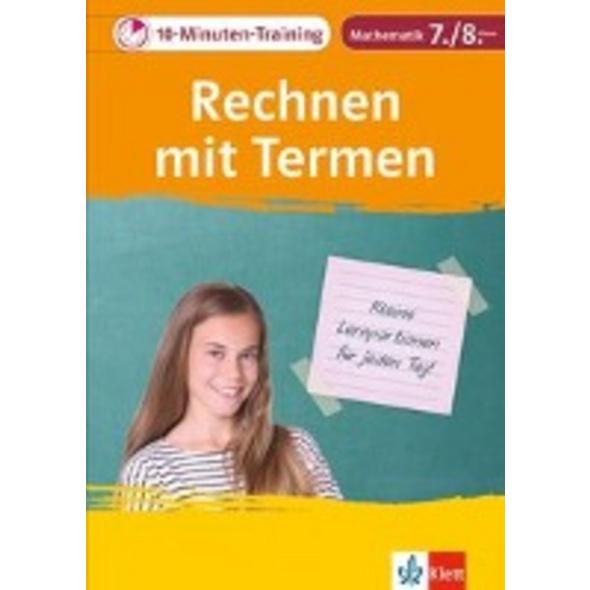 10-Minuten-Training Mathematik Rechnen mit Termen