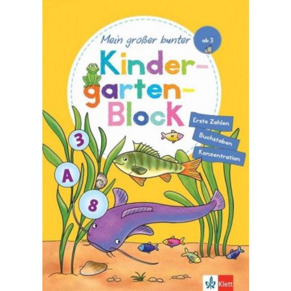 Klett Mein großer bunter Kindergarten-Block