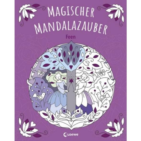 Magischer Mandalazauber - Feen