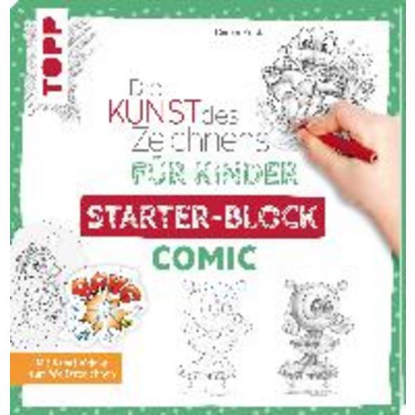 Die Kunst des Zeichnens für Kinder Starter-Block -