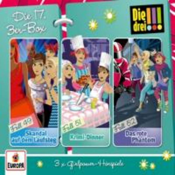Die drei !!! 3er Box - Folgen 49, 51, 52