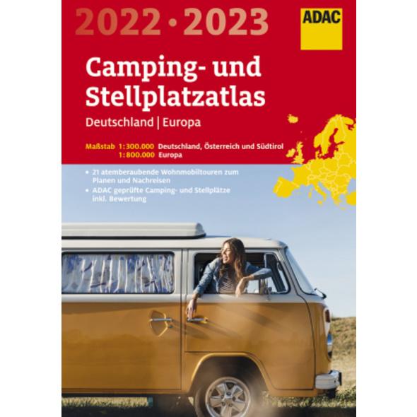 ADAC Camping- und StellplatzAtlas2022 23 Deutschla