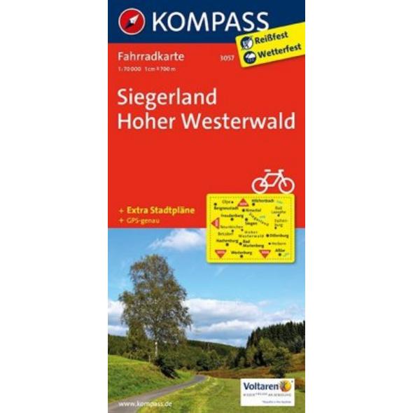 Siegerland - Hoher Westerwald 1 : 70 000