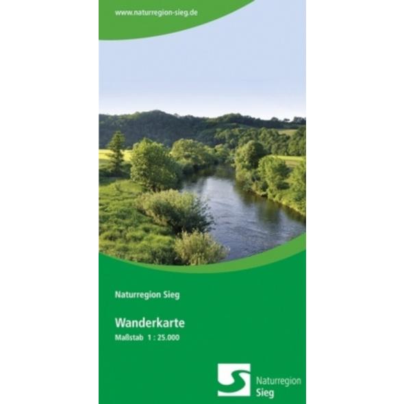 Naturregion Sieg Wanderkarte 1:25 000