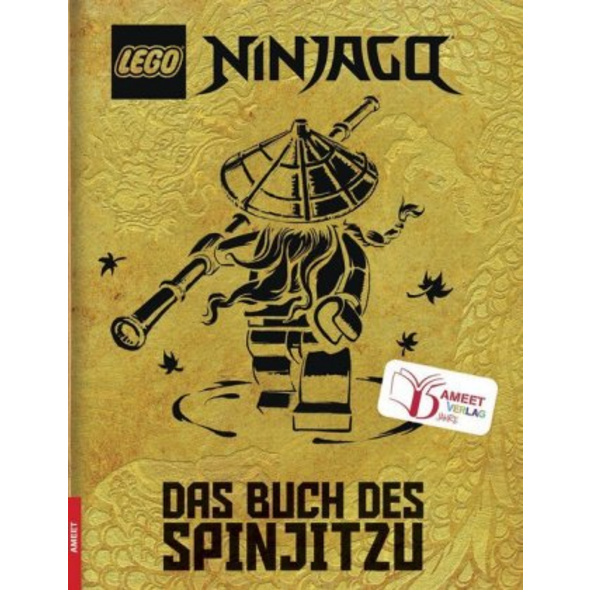 LEGO  NINJAGO  - Das Buch des Spinjitzu  Jubiläums