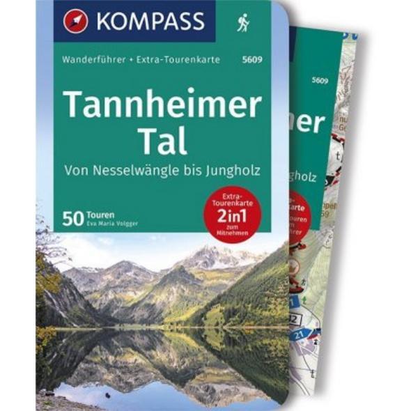 KOMPASS Wanderführer Tannheimer Tal von Nesselwäng