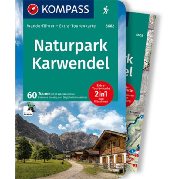 KOMPASS Wanderführer Naturpark Karwendel