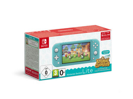 Nintendo Switch Lite Konsole Türkis & Animal Crossing