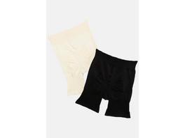 Ulla Popken Shapewear-Panty, 2er-Pack - Große Größen