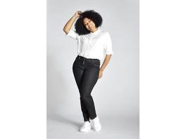 Ulla Popken Jeans Sammy, Slim, Komfortbund, 5-Pocket - Große Größen