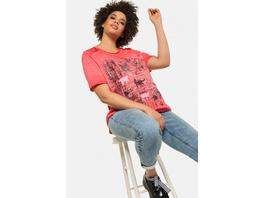 T-Shirt, Katzenmotiv, Classic, Spitze, Pailletten