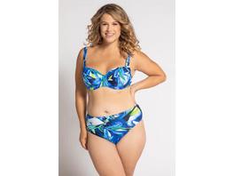 Ulla Popken Bikinislip, Aquarellmuster - Große Größen