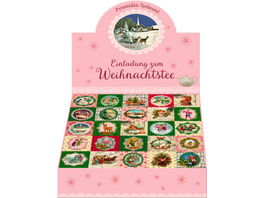 Teekalender - Einladung zum Weihnachtstee