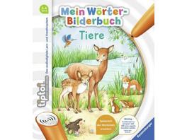 tiptoi  Mein Wörter-Bilderbuch Tiere