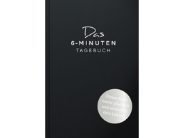 Das 6-Minuten-Tagebuch  schwarz