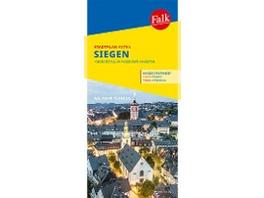 Falk Stadtplan Extra Standardfaltung Siegen 1:17 0